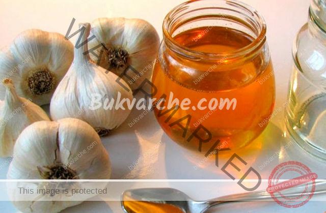 Чеснов сироп с мед при бронхит и кашлица