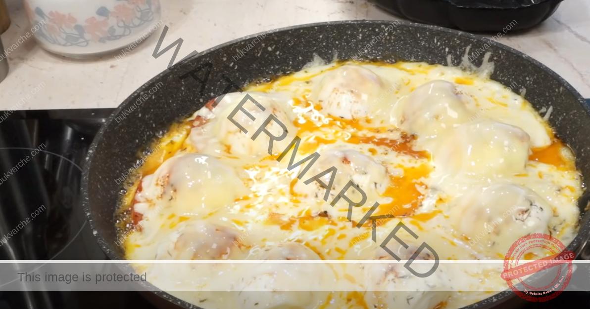 Ястие с яйца и зеленчуци. Вкусна и лесна рецепта