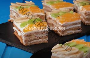 Бисквитена торта с банани - наслада за небцето