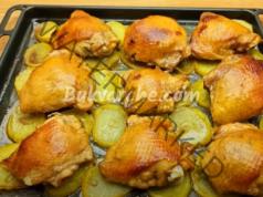 Бутчета с картофи на фурна - сочно и вкусно ястие
