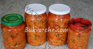 Зеленчукова смес в буркани за зимата