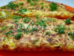 Картофени палачинки с месо и кашкавал