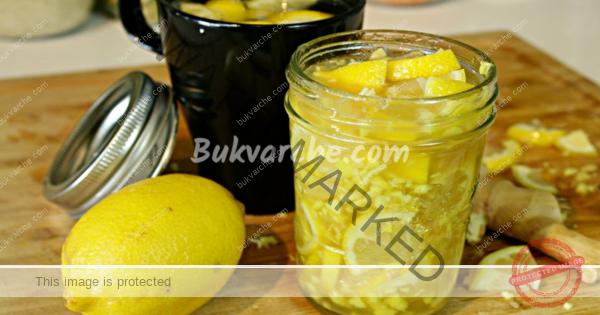Лимонов чай с джинджифил предпазва от грип и настинки