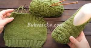 Модел терлици, който се плете лесно на две игли