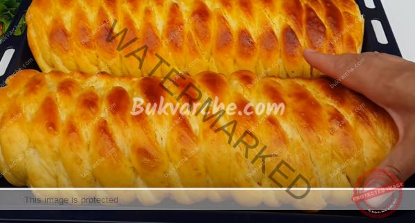 Орехово руло със стафиди – меко като памук (1)