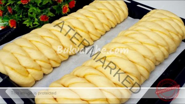 Орехово руло със стафиди – меко като памук