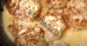 Пилешки кюфтета със сметана - истински деликатес