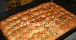 Питка с розмарин - лесна, бърза и вкусна рецепта