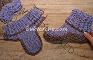 Плетени терлици тип ботуши, за бъдат краката ви на топло цяла зима