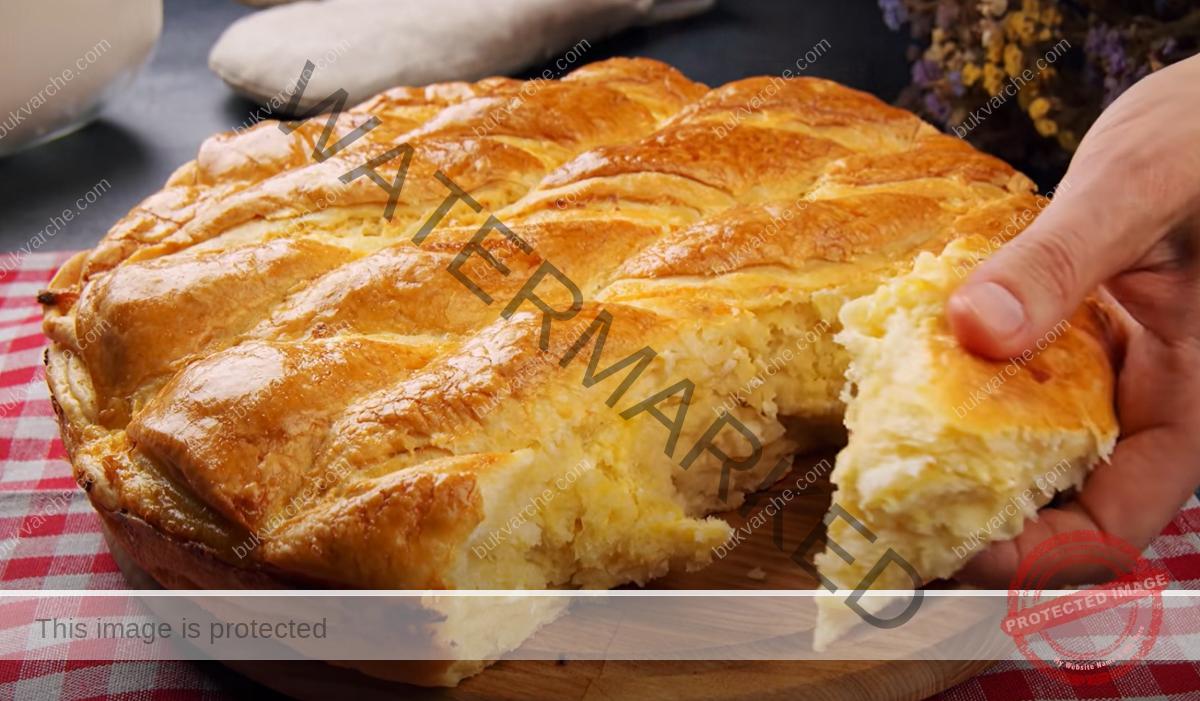 Тутманик със сирене - приготвя се много лесно